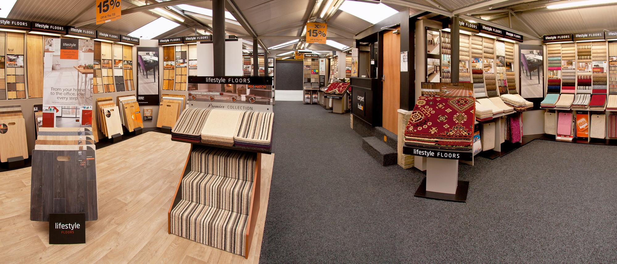 Popular Carpet and Flooring Ranges